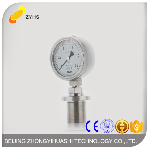 Magnetic Electric Contact Pressure Gauge China Good Supplier