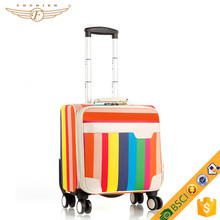 hot selling products fabric children travel trolley luggage bag with logo