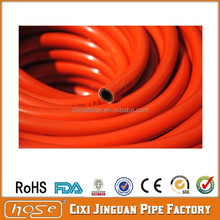 Sales Promotion!9.5mm popular model in Africa market popular PVC LPG gas hose orange red color, 60m per roll