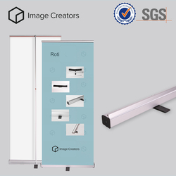 New design Cube roll up stand , roll up banner stand