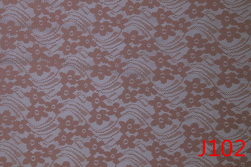Pink Flower Knitting Lace Fabric in Tirupur