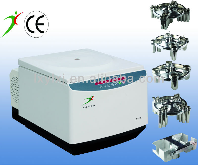 TDL-5M Table-top Large Volume Refrigerated Centrifuge