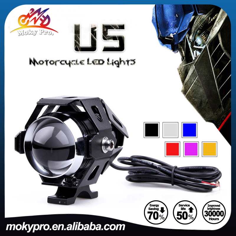 Hot sell 12-80V Transformers U5 LED motorcycle headlight Projector <strong>light</strong>