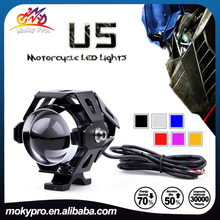 Hot sell 12-80V Transformers U5 LED motorcycle headlight Projector light