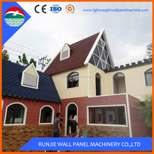 China Supplier Bamboo Prefabricated Steel Frame House
