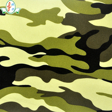 camo polyester print knit fabric