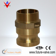 Brass Male Female Camlock Connectors / Camlock Coupler