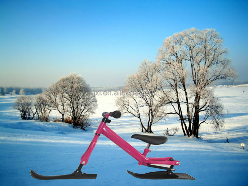 2017 hot item winter kid no pedal snow toy scooter