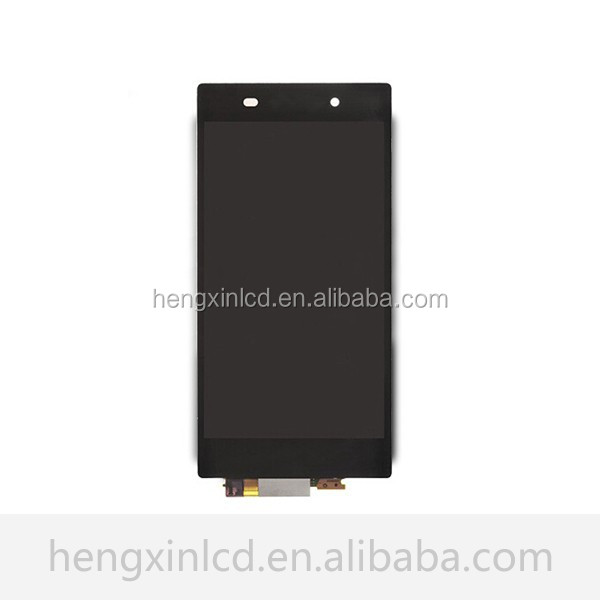 import china goods touch screen replacement for sony xperia z1 lcd assembly