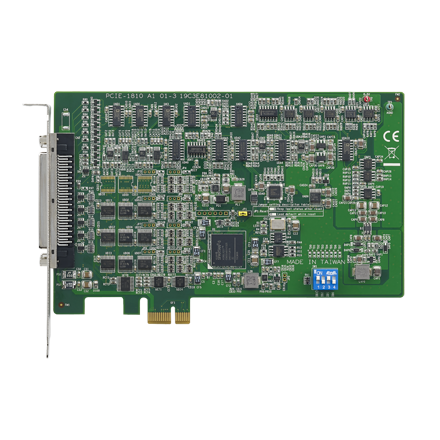 Advantech 800 KS/s, 12-bit, 16-ch PCI Express Multifunction <strong>Card</strong> PCIE-1810-AE importer