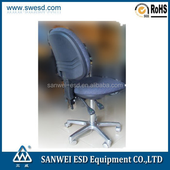 ESD Clean room Fabric Chair Model No.3W-9804112 Antistatic Type