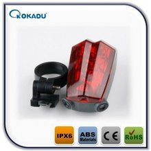 LED laser tail light and fashion cycling tyre decoration