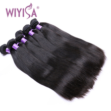 100% Virgin Straight Hair Bundles No Tangle No Shedding Human Hair