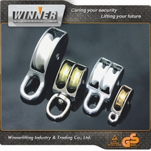 Hot Sell!!! Nickel Plated Swivel Ring Single Wheel Sheave Pulleys
