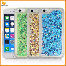 soft tpu love heart liquid case cover for iphone 6 6s