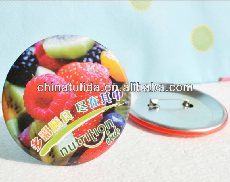Fruit Badge/Famous Button Badges