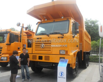shacman dump truck with mining truck