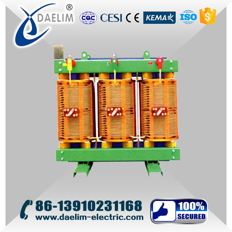 6kv 800kva Indoor Low Voltage H Class Insulation Transformer