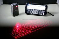 2014 New Design and Mini Size Portable Bluetooth Wireless Keyboard Projected Laser Keyboard LPK01