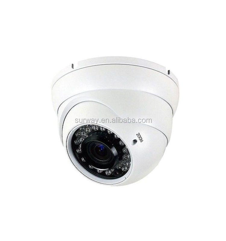 H.265 5MP Vandalproof outdoor dome IP camera with 30 fps and WDR surveillance camera