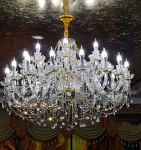 Zhongshan wholesale luxury wedding banquet hall chandelier crystal event decoration lights lighting