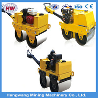 handheld vibrating road roller with Top Performance