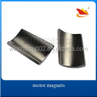 Neodymium Arc Magnets N42SH Customized For Motor