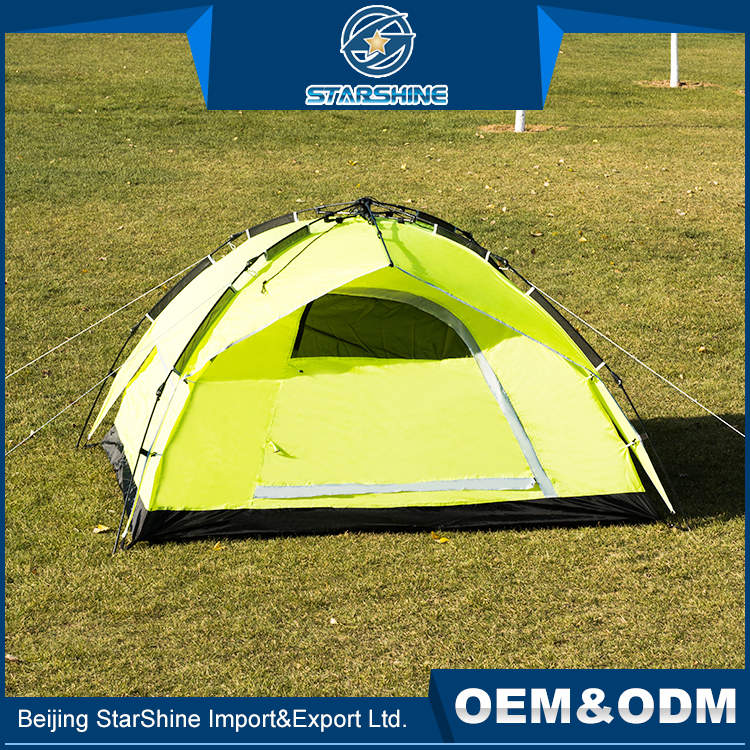 Lightweight Folding Waterproof Auto Pop Up Tents Outdoor Camping Tent With 3 funtions For 3-4 People
