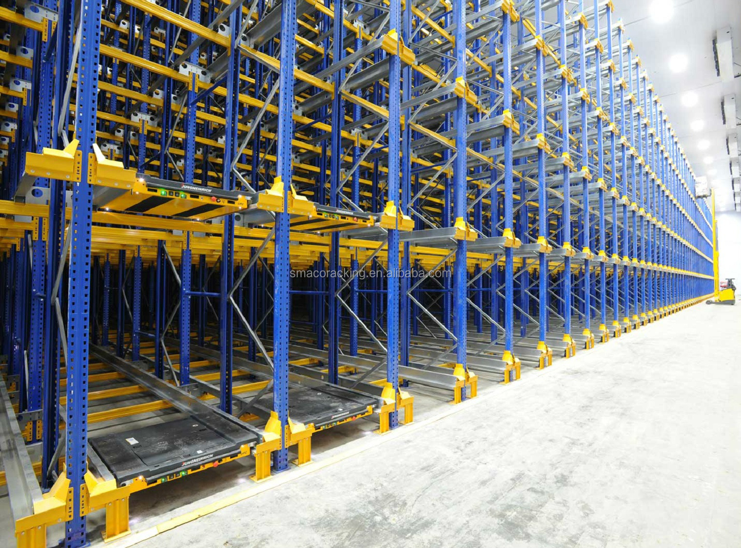 Automation Material Handling Warehouse Mobile Radio Shuttle Racking&Shelving