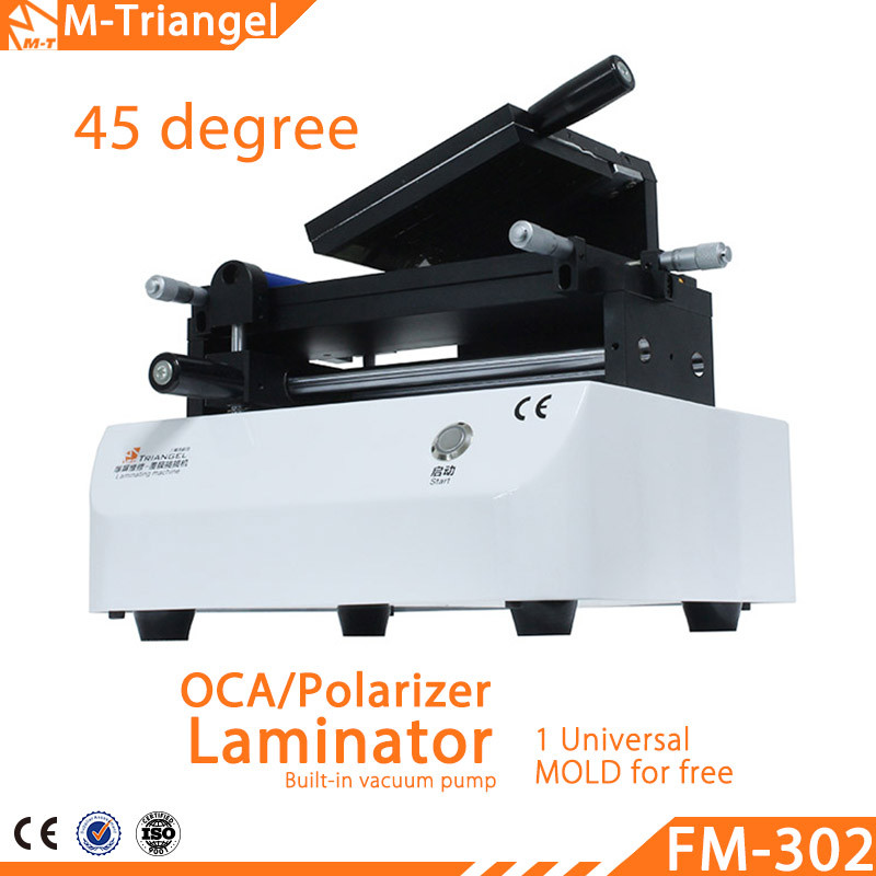 Hot New Universal Small Size LCD Touch Screen Glass OCA Film & Polarizer Laminating Machine for iPhone, All Mobile Phone Repair