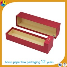 red gift lid wine glass storage boxes cardboard