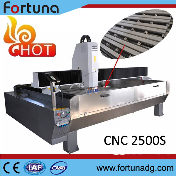 Fortuna hot sale stone working cnc router