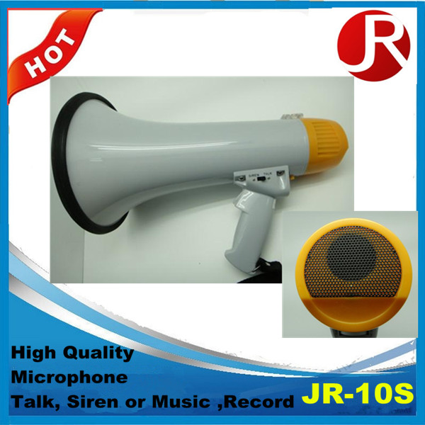 High quality handy megaphone 10S rechargeable megaphone