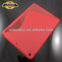 S Line Anti-skid Frosted TPU Case for iPad Air (Red)(fashion)
