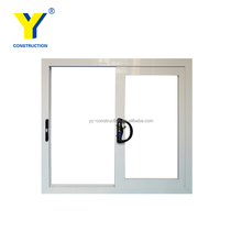 Aluminium windows and doors of australia as2047 standard and with aluminium profile frame for bathroom and office used windows
