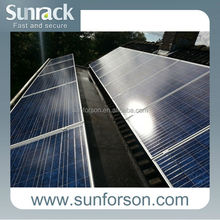 ground and roof mounting , 200kw solar panel mounting system
