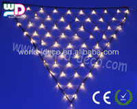 outdoor triangle Led net lights