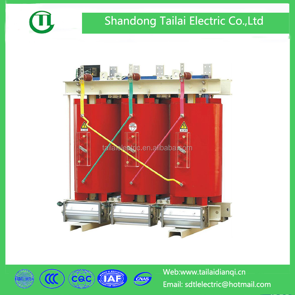 SC(B) epoxy casting11kv dry type electric power transformer price low