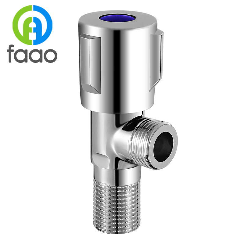 FAAO High-quality Chromium plating on brass Angle <strong>valve</strong>