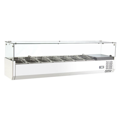High Quality Table top Display Bar Salad Counter Refrigerator With CE UL RoHS ETL