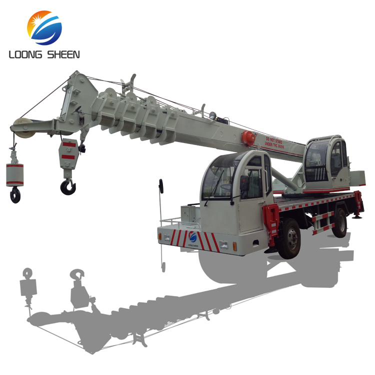 Chinese Best Selling 10 Ton Knuckle Boom Truck Mounted Crane