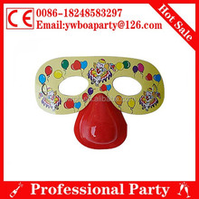 promotional paper party mask for birthday party