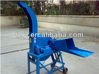Chaff cutter for rice straw