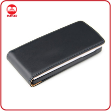 Hot Selling Black Executive Premium Leather Flip Case for Xperia Ray St18i