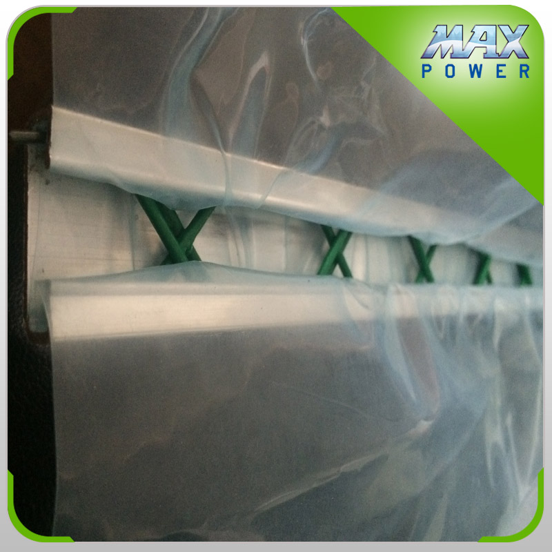 High quality film lock for multi span greenhouse