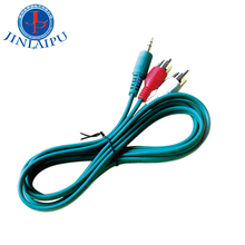 Super September rca pria pria 3.5mm audio kabel aux kabel berwarna
