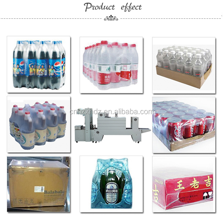BZJ-5038B Semi-Auto Bottle Sleeve Wrapper And Shrink machine