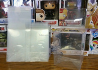PET Material funko pop protectors box!4 inch and 6 inch VINYL FIGURES CRYSTAL CLEAR ACID-FREE CASES