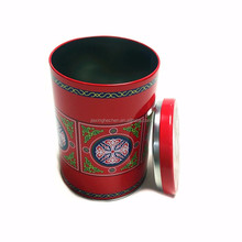 Food Grade Round Empty Metal Tea Can For Sale