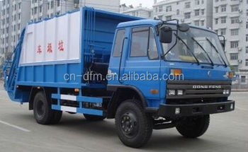 mini compression garbage truck from dongfeng